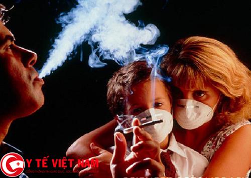 Khói thuốc lá nguyên nhân gây bệnh xẹp phổi
