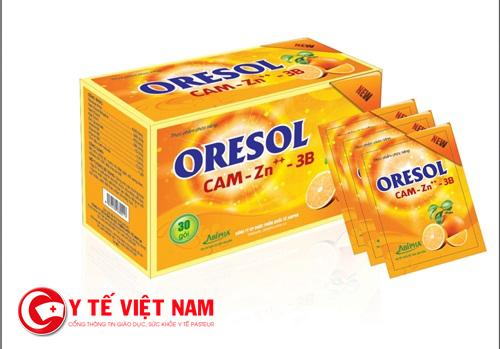 Hỗ trợ điều trị tiêu chảy bằng thuốc OresolHỗ trợ điều trị tiêu chảy bằng thuốc Oresol