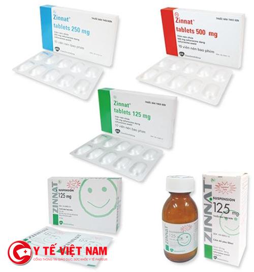 Thuốc Zinnat điều trị viêm tai giữa và một số bệnh khácThuốc Zinnat điều trị viêm tai giữa và một số bệnh khác