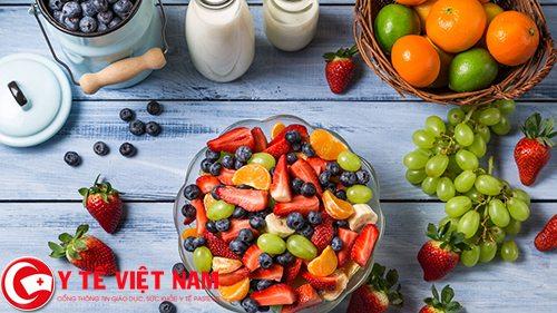 Bệnh thiếu máu cơ tim nên ăn nhiều trái cây