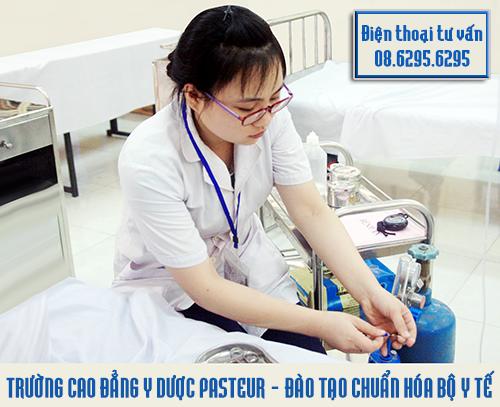 Trường Cao đẳng Y Dược Pasteur đào tạo chuẩn hóa Bộ Y tế