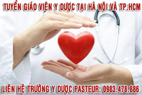 Tuyển dụng giảng viên Y Dược tại Hà Nội và TPHCM