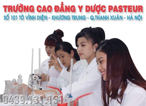 Tuyển sinh Cao đẳng Y Dược Pasteur Hà Nội