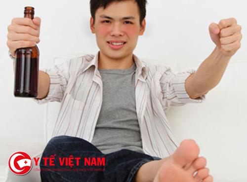 Đàn ông chớ nên coi thường việc bị đỏ mặt khi uống rượu