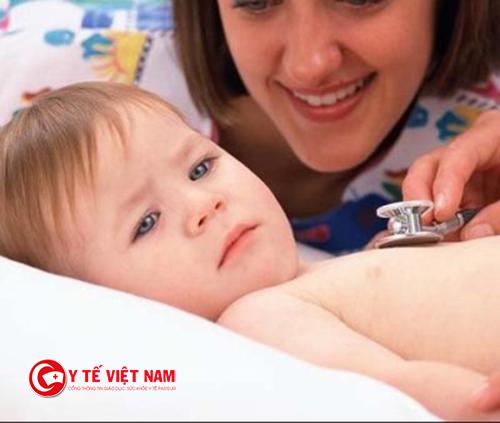 Viêm phế quản là bệnh thường gặp ở trẻ
