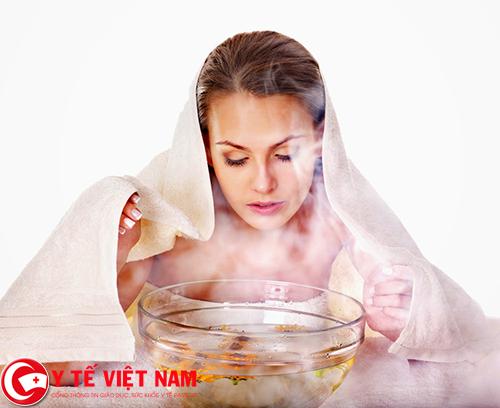 Xông hơi cũng là cách phòng bệnh cảm cúm
