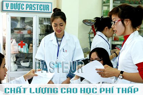 Trường Cao đẳng Y Dược Pasteur - Chất lượng cao học phí thấp