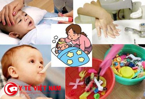 Chăm sóc trẻ bị tay chân miệng như thế nào hiệu quả?