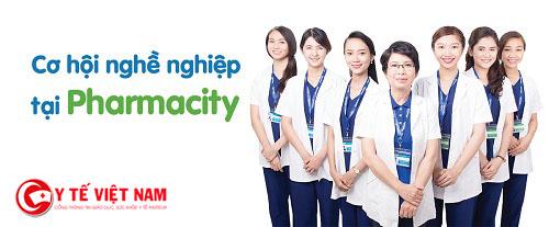 Công ty Cổ phần Dược phẩm Pharmacity tuyển dụng Dược sĩ Đại học