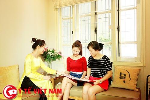 Viện thẩm mỹ Hà Nội là địa chỉ thực hiện bấm mí Hàn Quốc uy tín