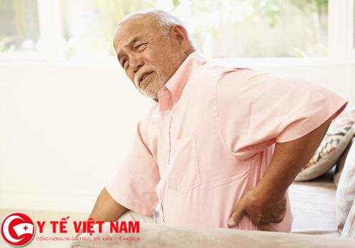 Tuổi cao nguyên nhân gây bệnh thoái hóa cột sống