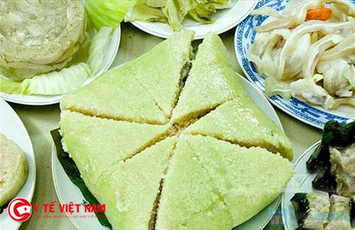 Bánh chưng ngày Tết mang đậm nét văn hóa cổ truyền của Việt Nam