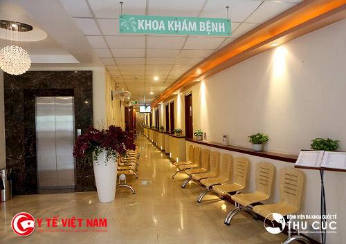 Bệnh viện Đa khoa Quốc tế Thu cúc luôn coi khách hàng là yếu tố phát triển