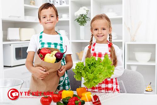 Chế độ giảm cân cho trẻ béo phì trong dịp tết