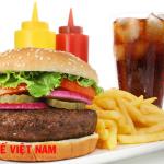 Đồ ăn nhanh thực phẩm kiêng kỵ đối với người bệnh gai cột sống