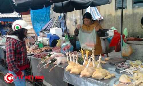 Dự thảo Tiêu chuẩn Việt Nam lần 1 tách riêng khu giết mổ và buôn bán gia cầm