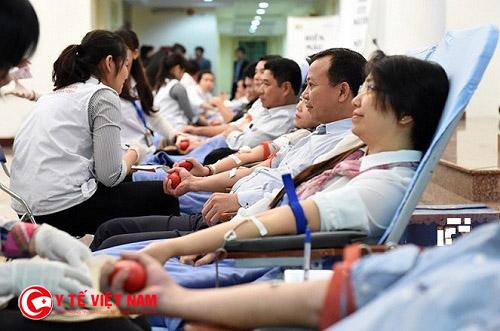 Quy định hiến máu đối với công dân Việt Nam từ 16-60 tuổi