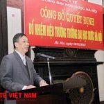 Hiệu trưởng trường Đại học Dược Hà Nội: PGS.TS: Nguyễn Đăng Hòa.