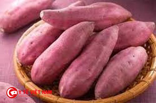Khoai lang là thực phẩm chứa nhiều dinh dưỡng lại có hàm lượng chất xơ cao