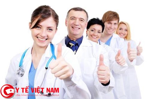 Nhân viên y tế làm việc ở TP. Hồ Chí Minh