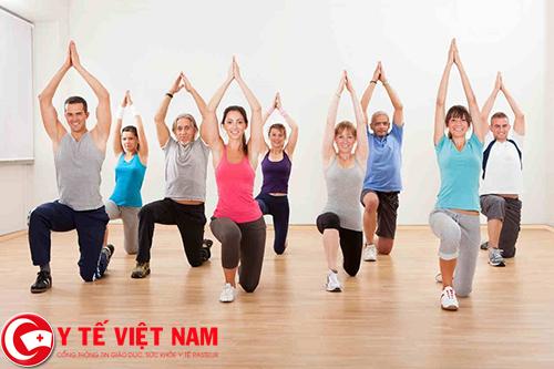 Có nhiều bài tập thể dục hỗ trợ điều trị bệnh thoái hóa cột sống