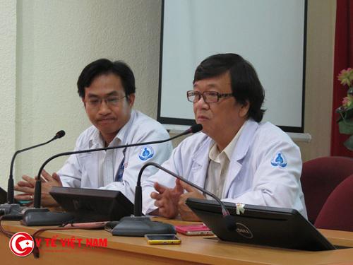 Phó Giám đốc Bệnh viện Nhi Đồng 1 cho biết hiện tại sức khỏe bé đã ổn định