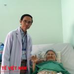 Phẫu thuật thay khớp háng thành công cho cụ bà đã 102 tuổi tại bệnh viện 115