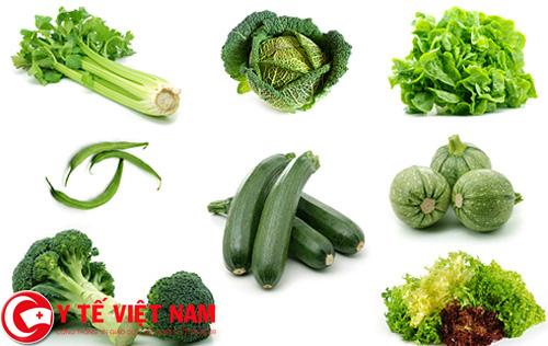 Trẻ bị bệnh sốt rét nên ăn nhiều rau xanh