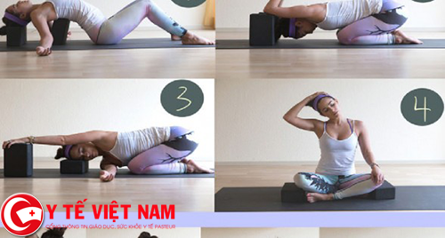 Tập yoga hỗ trợ điều trị bệnh thoái hóa đốt sống cổ hiệu quả