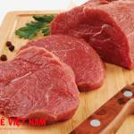 Thịt bò thực phẩm kiêng kỵ đối với người bệnh gai cột sống