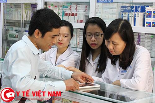 Trình dược viên bệnh viện Ninh Bình lương cao