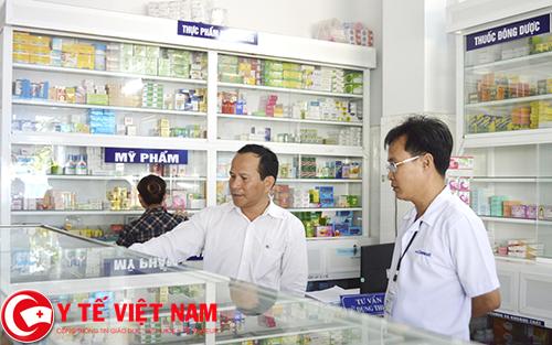 Trình dược viên bệnh viện Ninh Bình