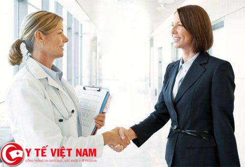 Trình dược viên làm việc tại Hà Nội năm 2017