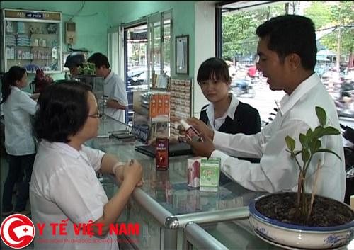 Trình dược viên làm việc tại Hà Nội