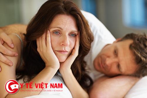 Tuổi mãn kinh ảnh hưởng nghiêm trọng đến đời sống tinh dục