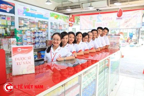 Tuyển dụng dược sĩ trung cấp đi làm ngay tại Tp.Hồ Chí Minh