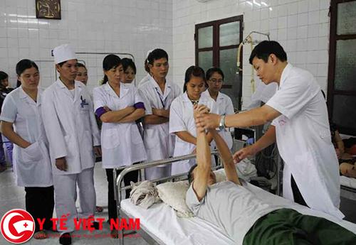 Y sỹ bệnh viện làm việc tại Bắc Ninh