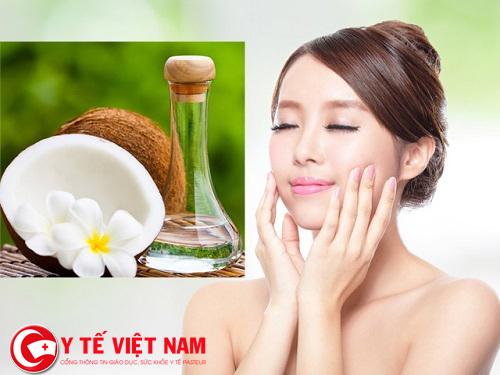 Cách căng da mặt tự nhiên bằng dầu dừa