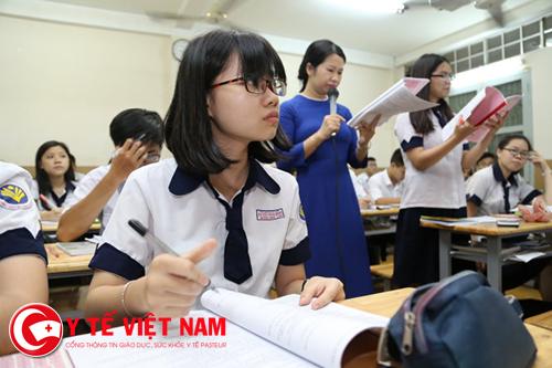 Bài thi tổ hợp phải được làm theo tuần tự các môn thi