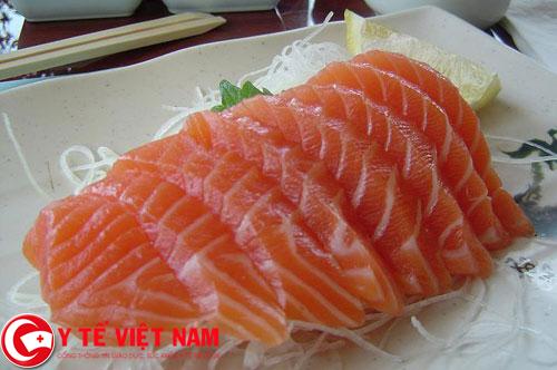 Cá hồi thực phẩm vàng giúp giảm nồng độ cholesterol hiệu quả