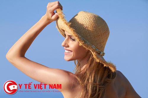 Hãy bảo vệ làn da của mình khỏi những tác hại của ánh nắng mặt trời