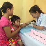Can thiệp giải độc chì cho trẻ em ở Thái Nguyên