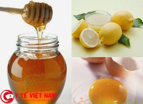 Công dụng tẩy lông chân của chanh, mật ong và lòng trắng trứng gà