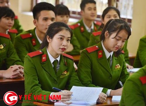 Tiêu chuẩn dự tuyển vào các trường khối Công an nhân dân