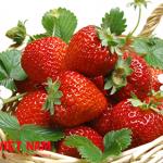 Dâu tây trái cây hỗ trợ điều trị bệnh gút