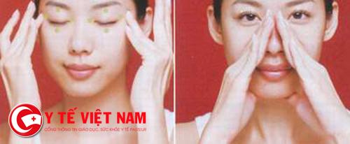 Phương pháp xoa bóp dưỡng sinh dưỡng gan sáng mắt
