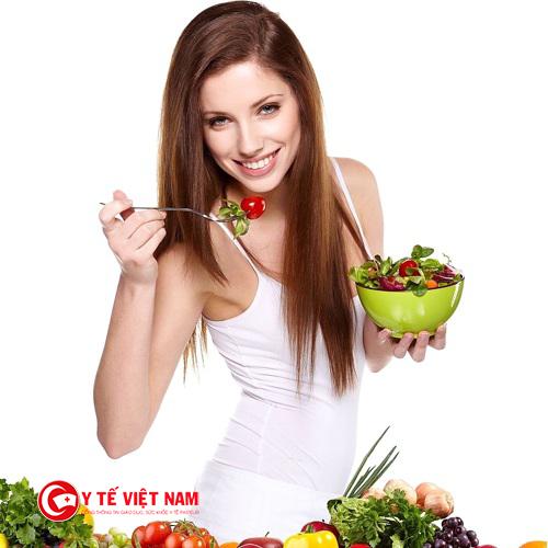 Ăn những thực phẩm lành mạnh