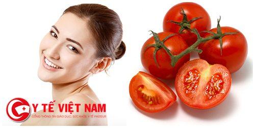 Mặt nạ cà chua trị mụn hiệu quả