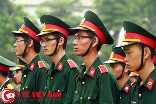 Chỉ tiêu tuyển sinh các trường Đại học, Cao đẳng Quân đội năm 2017
