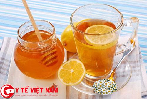 Phương pháp tẩy lông chân bằng trà hoa cúc